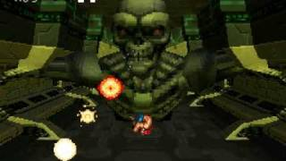 Contra 4 Hard (No Deaths, Power Ups) Boss 06 Terminator