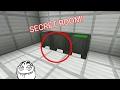 How to make: AN EASY SECRET ROOM!   Minecraft PE