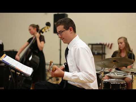 Victory High School Jazz Band Performance 09-14-17