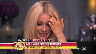 Avril Lavigne Opens Up About Her Struggle With Lyme Disease | Good Morning America | ABC News Video