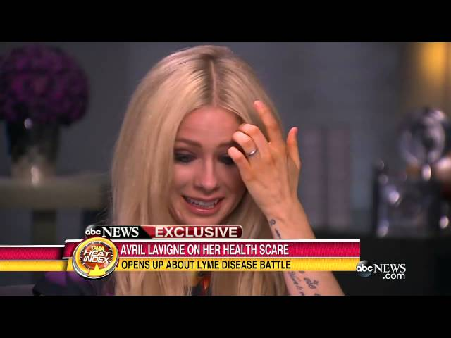 Avril Lavigne gives emotional interview about struggle to be