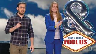 Penn \u0026 Teller: Fool Us /// Magician Michael Feldman - Season 7 Episode 27