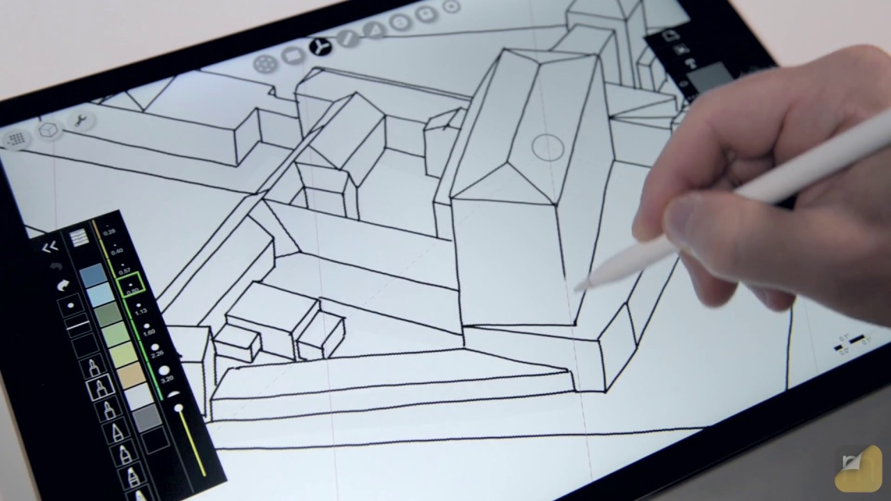 "How To…Sketch with ""Live"" 3D Models - morpholio trace - Medium"