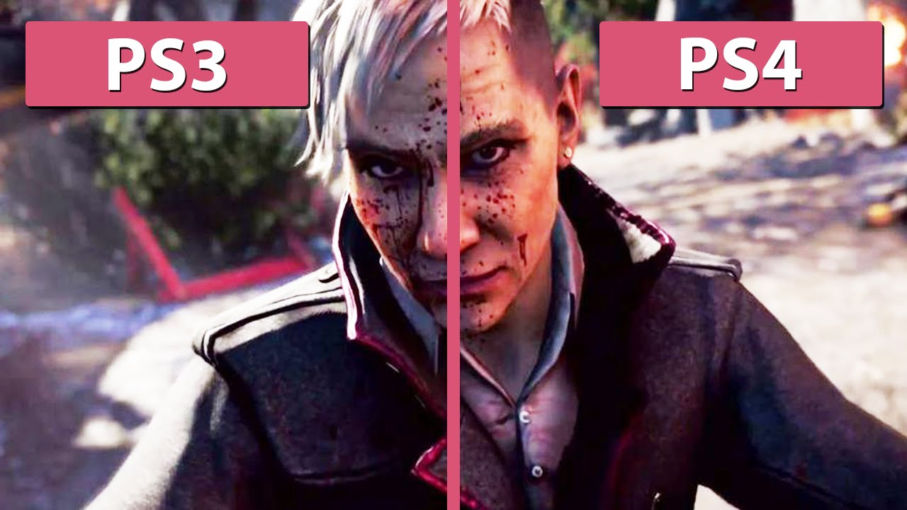 far cry 4 ps3 vs ps4 graphics comparison fullhd youtube. Black Bedroom Furniture Sets. Home Design Ideas