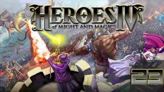Heroes of Might and Magic 4 Прохождение(Невозможно) #23 Нежить 4(Финал) Хаос 1