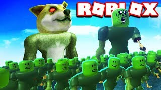 BUILDING MY OWN ZOMBIE ARMY IN ROBLOX INFECTION INC 2