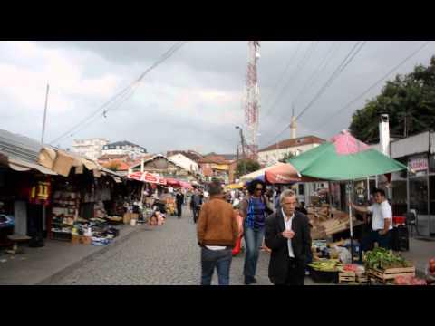 アキーラさん散策①旧ユーゴスラビア・コソボ・プリシュティナ市・市場!Market,Pristina(Prishtina),Kosovo