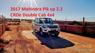 2017 Mahindra Pik up 2.2L CRDe Double Cab 4X4 S10 Review and test drive