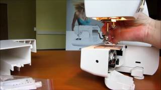 Šicí stroj Lucznik 419 Milena - předvedení