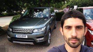 Nuova Range Rover Sport: prova su strada e in off road - ENGLISH subtitled - On-Off road Test Drive