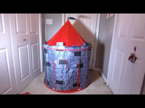 Review and How to of Kiddey Knights Castle Tent