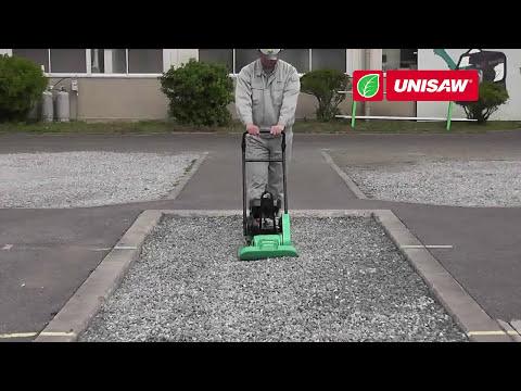 Мощная виброплита!  Mikasa MVC для уплотнения песка и доводки асфальта