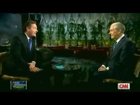 Piers Morgan Tonight, An Interview with Ron Paul - Feb 3, 2012