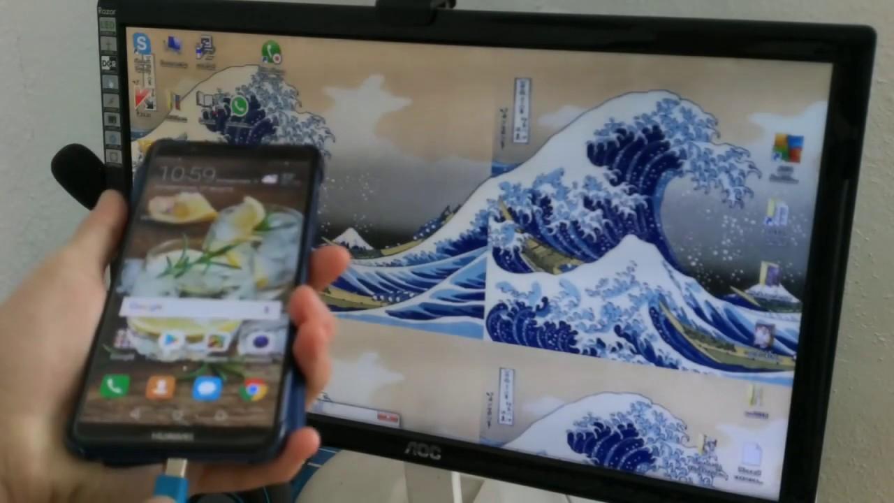 Как переместить фото со смартфона в компьютер! - YouTube