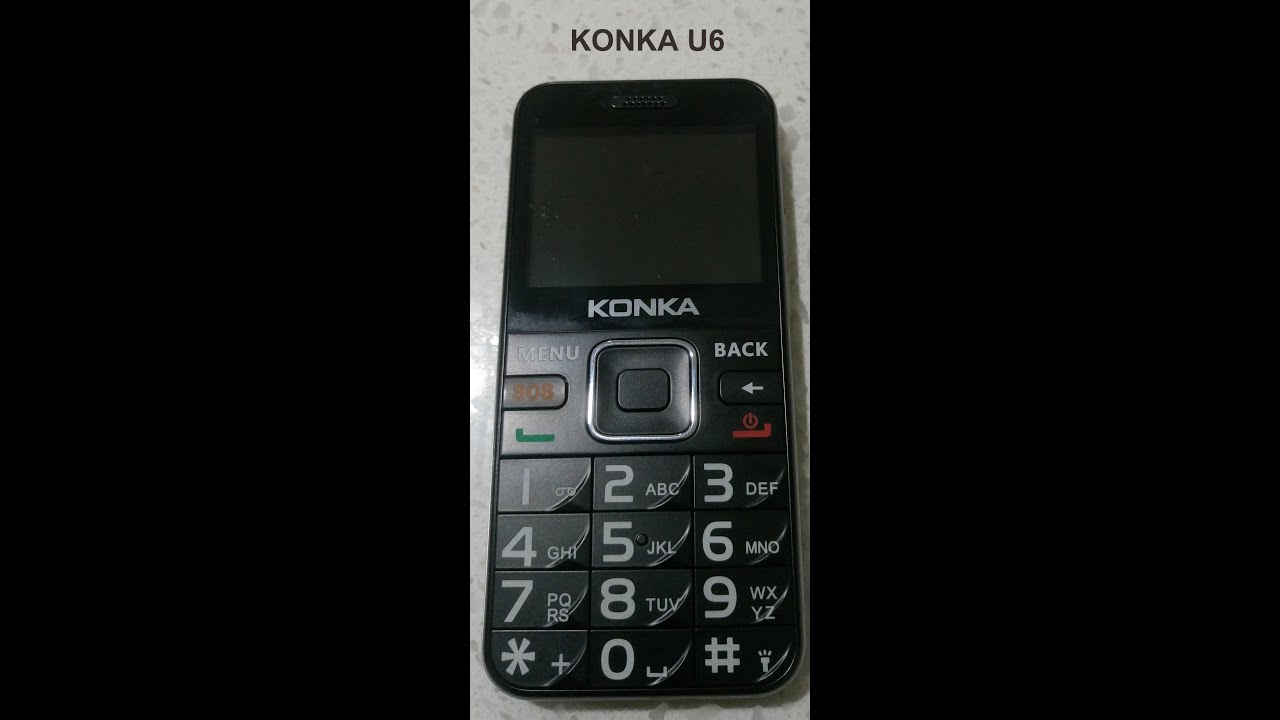 Mobile Phone Unboxing - Konka U6