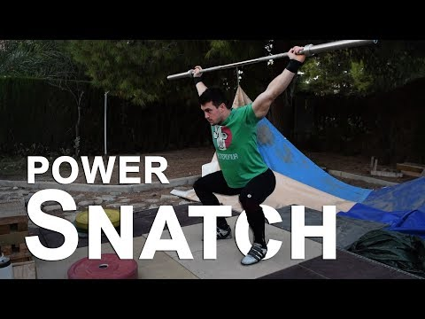 POWER snatch: diferencias, uso, técnica, errores...