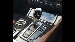 BMW Steptronic Cool Features and Demonstration !