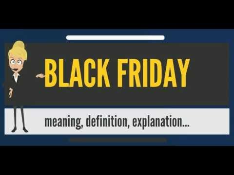 What does black friday means for cryptocurrency