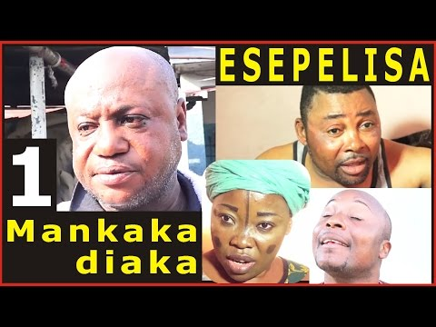 MAKAKA DIAKA 1 Modero,Dady,Moseka,Viya,Mayo ESEPELISA THEATRE CONGOLAIS NOUVEAUTÉ 2017 Kinshasa rdc