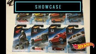 Showcase - Hot Wheels 2018 Honda 70th Anniversary Set