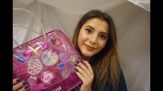 ASMR Baby Sitter Gives You A Makeover!
