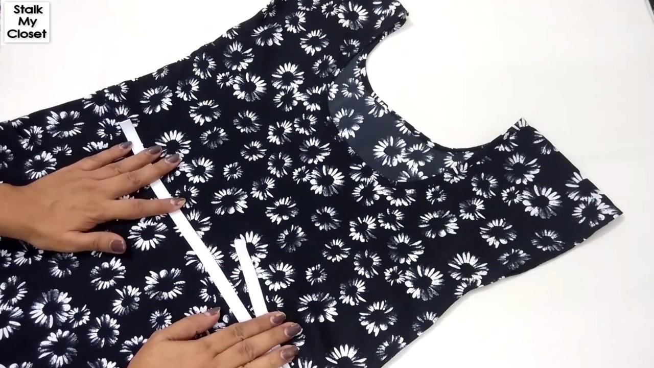 Download DIY Elastic Waist Dress Part 2  |  Professional Techniques to Attach Waist Elastic In Dress