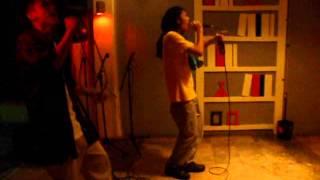 """Performing """"Aaminin ko na"""" by Tubong Bicolano."""