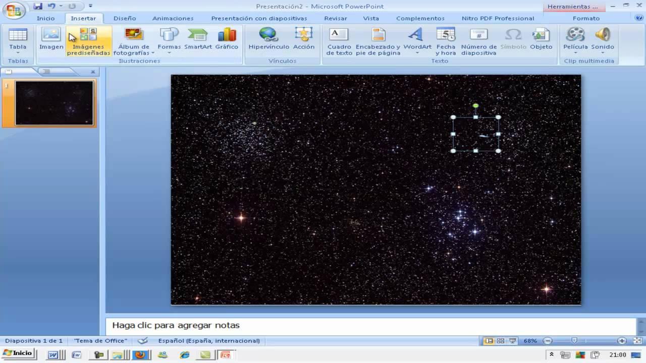 animacion y gifs animados con powerpoint 2007 ainte