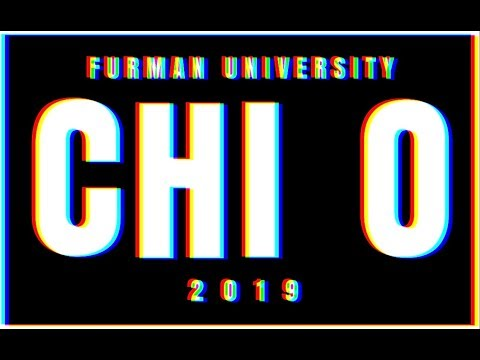 FURMAN CHI OMEGA RECRUITMENT 2019