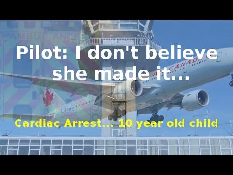 Child dies on Air Canada flight over Ireland [ATC AUDIO]
