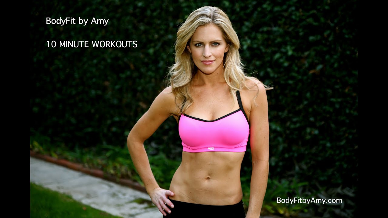 10 Minute Ab and oblique Workout Created by Body Fit by Amy