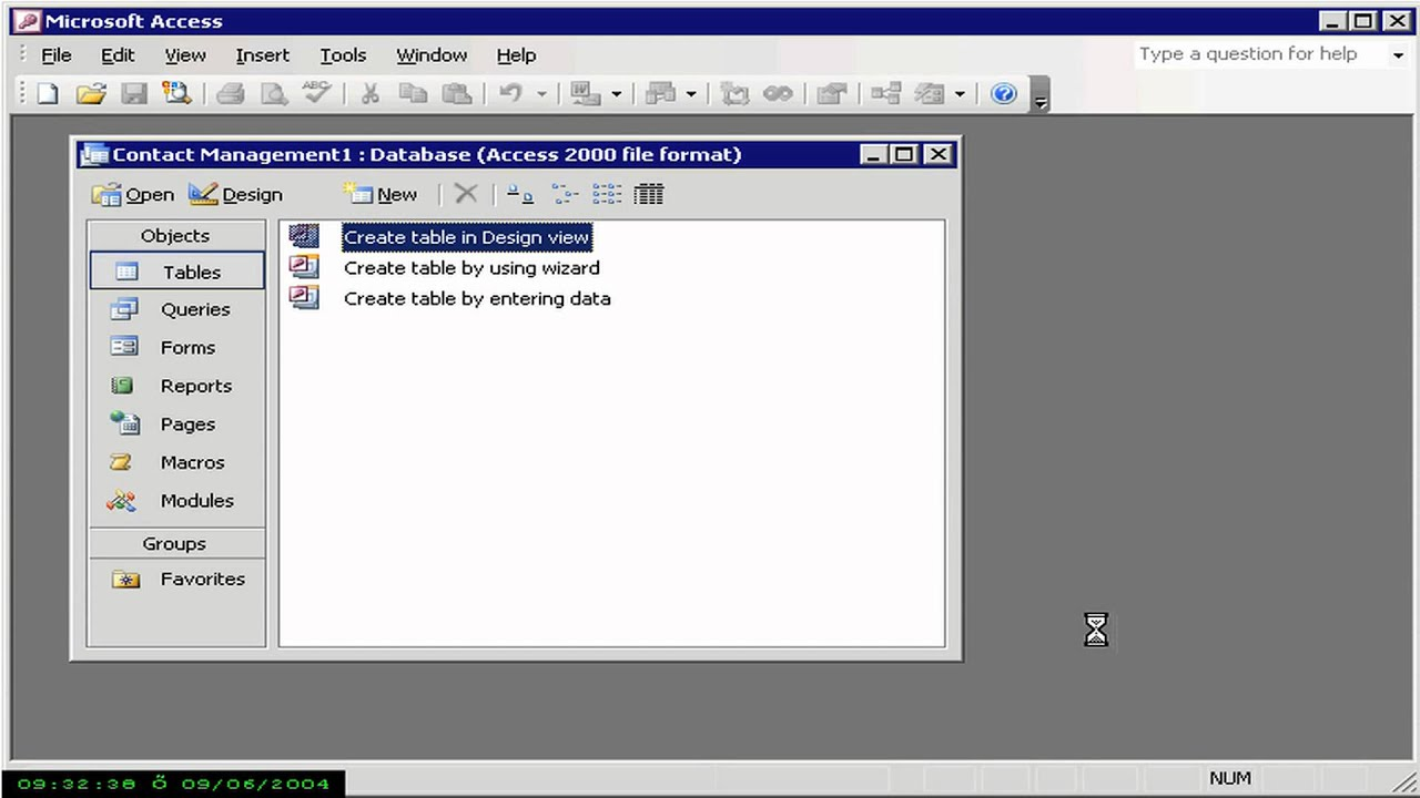 microsoft access 2003 templates - templates access 2003 youtube