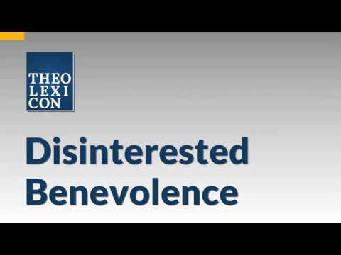 Disinterested Benevolence