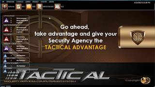 TACTICAL SE (Security Agency Management System)