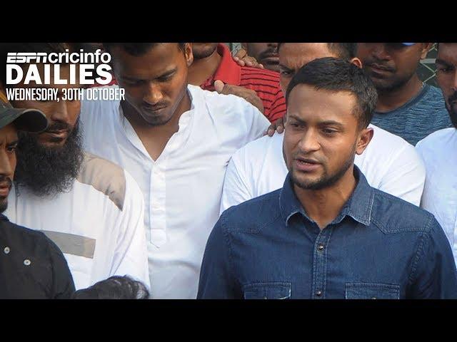 Shakib Al Hasan banned from all cricket   Daily Cricket News