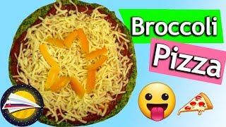 Brokolicová pizza 🍕 | Pizza bez múky | Zdravá pizza recept | Pizza z brokolice | Pizza bez droždia