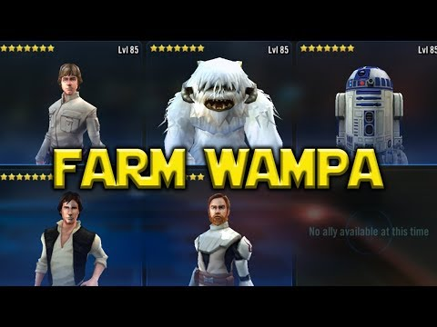 Star Wars: Galaxy Of Heroes – Farm Wampa – Anti Rebel Beast Gameplay