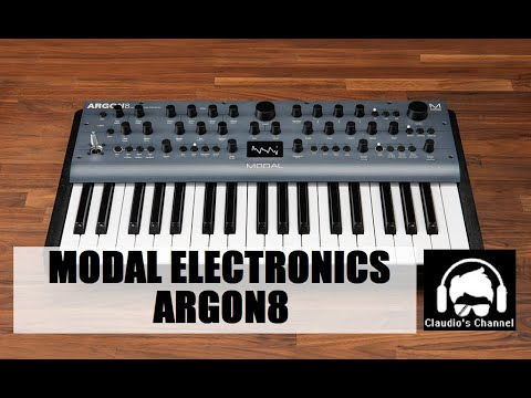 Claudio's Channel   Modal Electronics Argon8 Review Italiano