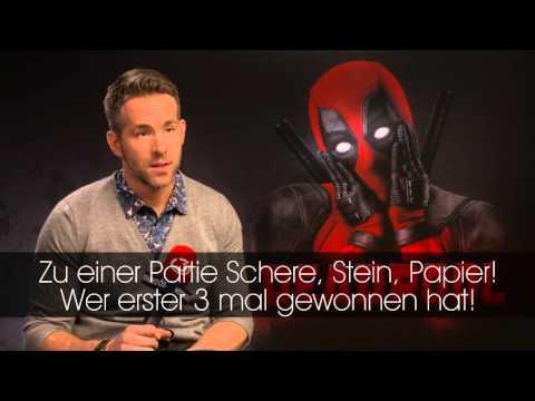 Ö3-Interview: Ryan Reynolds verliert bei Schnick, Schnack, Schnuck