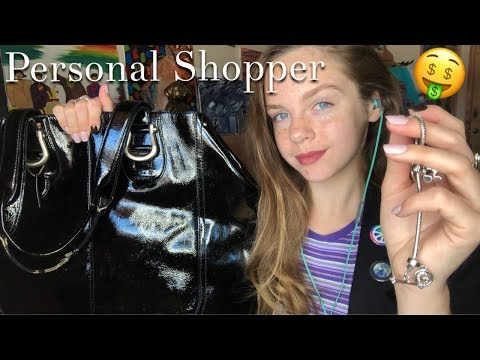 ASMR Personal Stylist Roleplay | Pampering