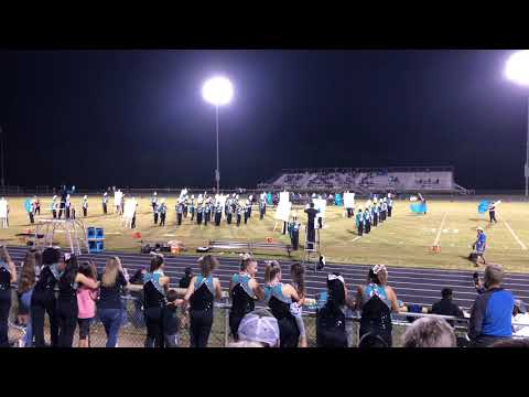 "West Johnston High School Marching Band ""The Painted World"" Movements 1-2"