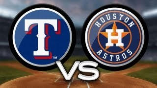 5/10/13: Trio of homers helps Rangers sink Astros