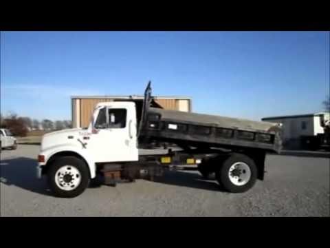 97 International 4700 >> 1997 International 4700 Dump Truck For Sale Sold At Auction November 29 2011