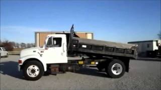 1997 International 4700 dump truck for sale | sold at auction November 29, 2011