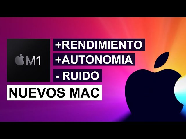 Nuevos Mac con Apple M1 - Nuevo Mac Mini, MacBook Air y MacBook Pro 13