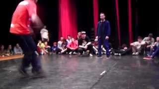 Šmel vs Kerry TOP 8 Bboy King Battle Bratislava 2014