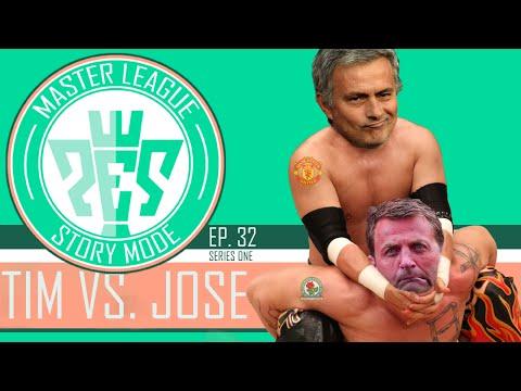 PES 2016 - Master League Story Mode - S1EP32 - Tim Sherwood vs. Jose Mourinho