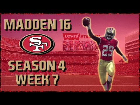 Madden 16 Franchise: San Francisco 49ers | Year 4, Week 7 vs Raiders