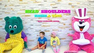 Head Shoulders Knees And Toes I KLS Action Kids Video & Nursery Rhymes