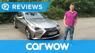 Lexus RC 2018 coupe in-depth review | Mat Watson Reviews